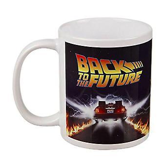 Takaisin tulevaisuuteen DeLorean muki