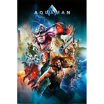 Aquaman Battle For Atlantis Maxi Poster