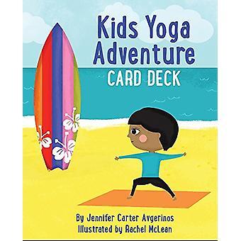 Kids Yoga Adventure Card Deck by Jennifer Carter Avgerinos - 97815728
