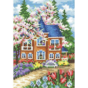 Andriana Cross Stitch kit - Seasons Spring