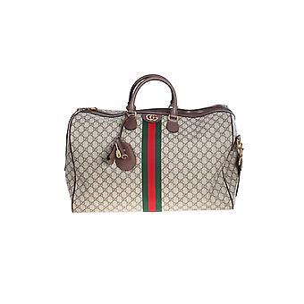 Gucci 54795999c2st8746 Men's Bege Fabric Travel Bag