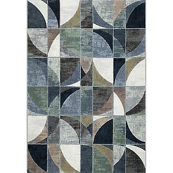 Galleria Modern Abstract Surface Gesneden Tapijten 63650 6656 In Blauw