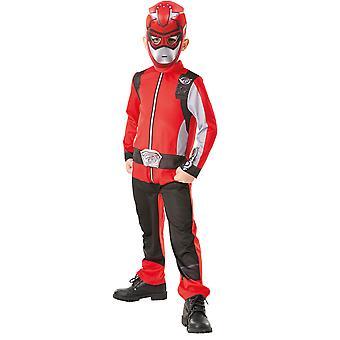 Red Ranger Boys Kostuum - Power Rangers