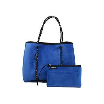 WILLOW BAY AU DAYDREAMER Neopreen Tote Bag - ELECTRIC BLUE VELVET