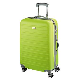 d&n Línea de viaje 9400 Carro L, 4 ruedas, 76 cm, 94 L, verde