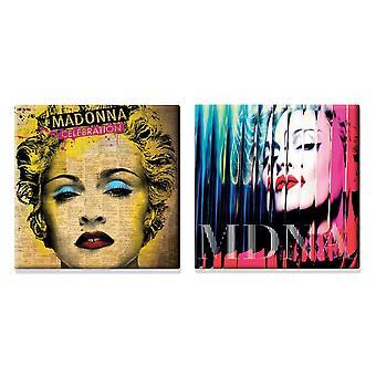 Madonna 2 x Fridge Magnet albums new official Gift set
