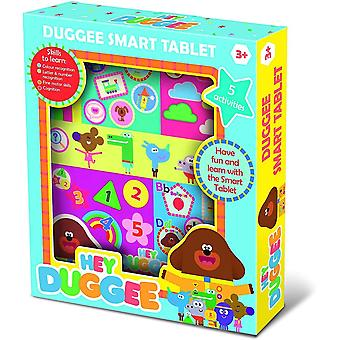 hey duggee activity smart tablet with touch sensitive screen for ages 3 years