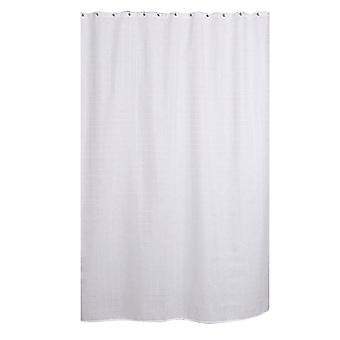 YANGFAN Jacquard Plaid Waterproof Polyester Shower Curtain