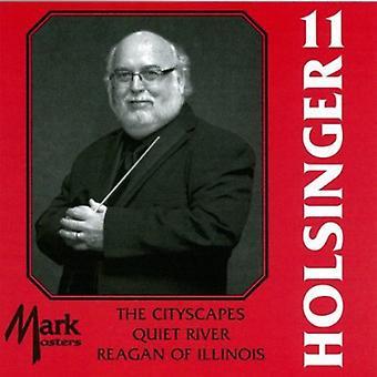 David R. Holsinger - The Symphonic Wind Music of David R. Holsinger, Vol. 11 [CD] USA import