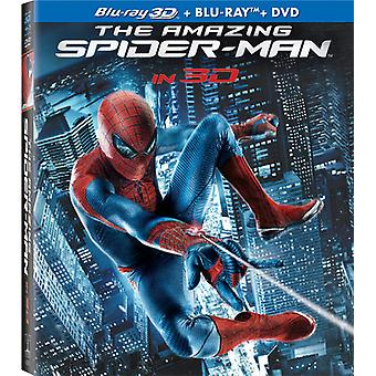 Amazing Spider-Man [4 plater] [inkluderer Digital kopi] [ultrafiolett] [2D/3D] [Blu-ray/Dvd] [BLU-RAY] USA import