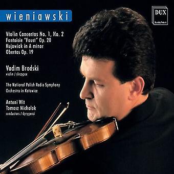 H. Wieniawski - Wieniawski: Violin Concertos [CD] USA import