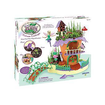 My fairy garden - nature cottage