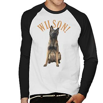 Friday Night Dinner Wilson Men's Baseball Long Sleeved T-Shirt