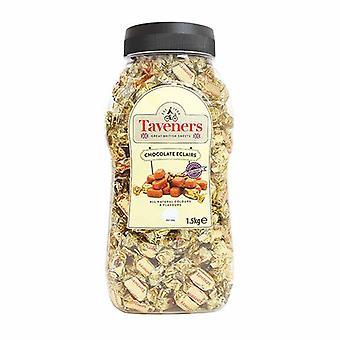 Taveners Chocolate Eclairs Sweets Bag, 3 kg