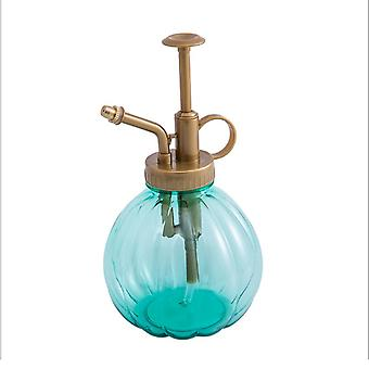 Pumpkin Shaped Spray Kettle for Watering Flower Green