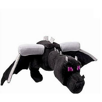 Pluche Soft Black Dragon - Mine Crafted Pluche Pp Cotton Dragon Toys For Children