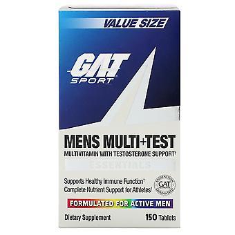 GAT, Mens Multi + Test, 150 tabletten