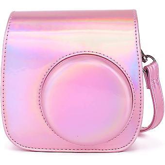 Brašna na fotoaparát pro Instax Mini 9 - Růžová