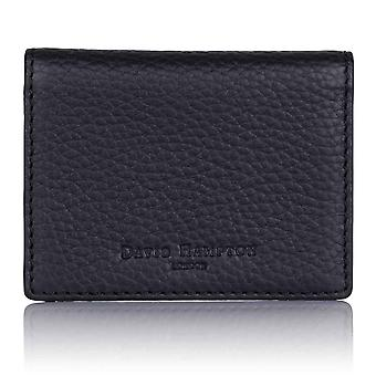 Slate Grey Richmond Leather Travel Card Holder