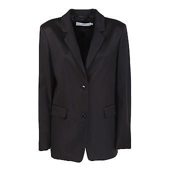 Fermé C9714832m22100 Women's Black Cotton Blazer