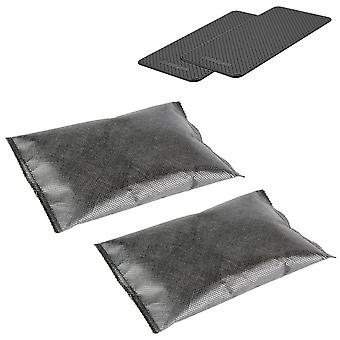 Ganvol 2 200g Reusable Musty Wardrobe Drying Silica Gel Desiccant Dehumidifiers