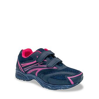 Chums Ladies Wide Fit Touch & Close Trainer