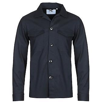 NN07 5137 Bernard Navy Overshirt