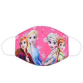 Disney Frozen Children's Face Mask Washable Frozen 2 Elsa Anna Olaf Cotton Anti-Dust Protective for Boy Girl Toys 3-12Y