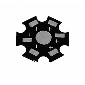 100pcs/los 1w/3w/5w High Power Led Kühlkörper - Aluminium Grundplatte