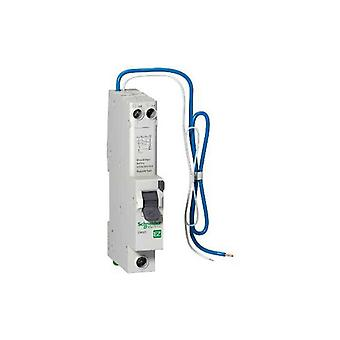 Schneider Electric EZ9D16820 1+N Pole Type AB RCBO 20A