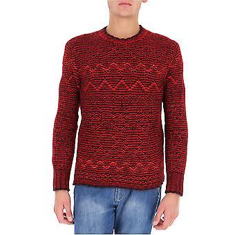Stella Mccartney 584675s72058490 Heren's Red Cotton Sweater