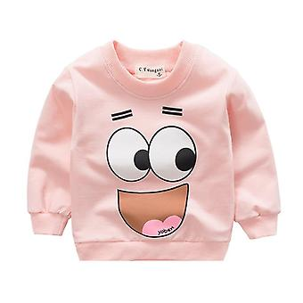 Spring Autumn Baby Sweatshirts- Hoodies Cartoon Animal Long Sleeve Cotton
