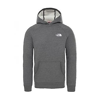 The North Face Raglan Red Box Hoodie NF0A2ZWUJK91 universel toute l'année hommes sweat-shirts