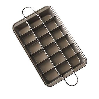 Non Stick Brownie Pans With Dividers Tray