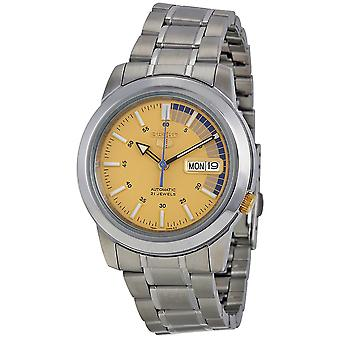 Seiko 5 Gent Watch SNKK29K1 - Stainless Steel Gents Automatic Analogue