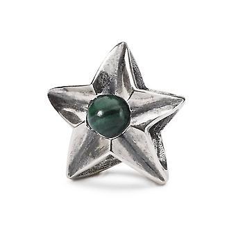 Trollbeads Sterling Silver Virgo Star Bead TAGBE-00266