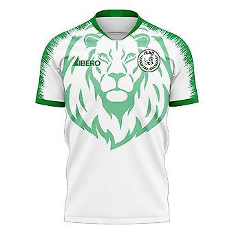 Irak 2020-2021 Away Concept Football Kit (Libero) - Lapset