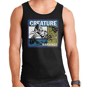 The Creature From The Black Lagoon Swim At Your Own Risk Men's Vest