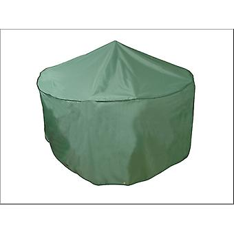 Bosmere Patio Set Cover Round 4/ 6 Seat Green MG515