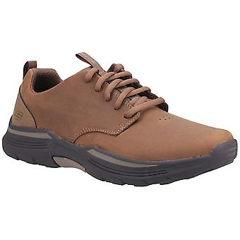 Skechers Mens Expended Carvalo Leather Lace Up Casual Schoenen