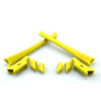 استبدال مجموعة المطاط ل Oakley Flak سترة XLJ Earsocks & Nosepads الأصفر