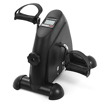 mini pedal stepper treningsmaskin LCD-skjerm innendørs sykling sykkel stepper tredemølle ttraining apparat for hjemmekontor treningsstudio
