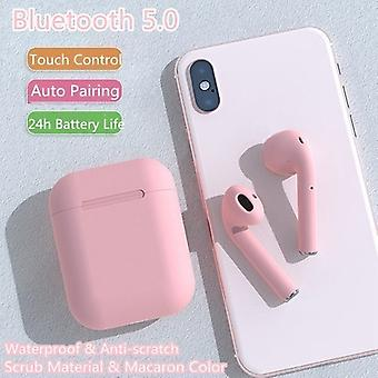 TWS inPods 12 Headphone Headset with Charging Box - pink suitable for Android/IOS