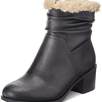 شركة & نمط المرأة إصبع مغلقة بينيلوبي الكاحل أحذية الطقس البارد