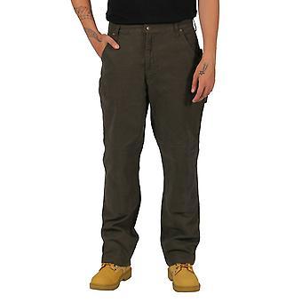 Key duck work trousers - brown mens work trousers industrial workwear