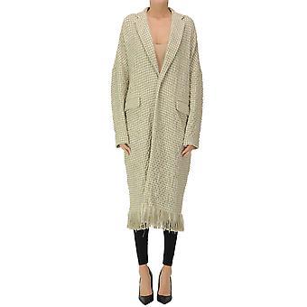 Yohji Yamamoto Ezgl123019 Women's Grey Nylon Coat