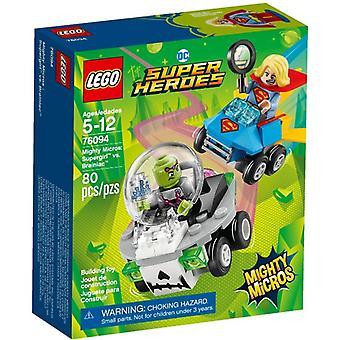 LEGO 76094 mahtava Micros: Supergirl vs. Brainiac