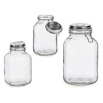 Jar Glass 3 L (14 x 24 x 14 cm)