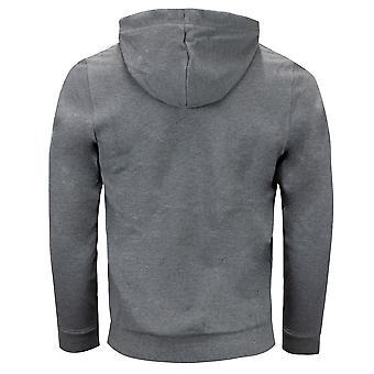 Sergio Tacchini Mens Devok Sweater Taped Hoodie Grey Jumper 038356 924
