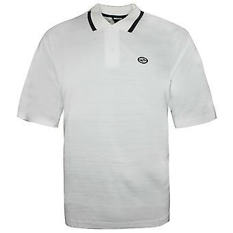 Nike Golf Mangas Curtas Camisa Polo Branca Camiseta Mens T-Shirt 160547 100 A69B